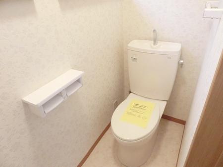 施工後 トイレ